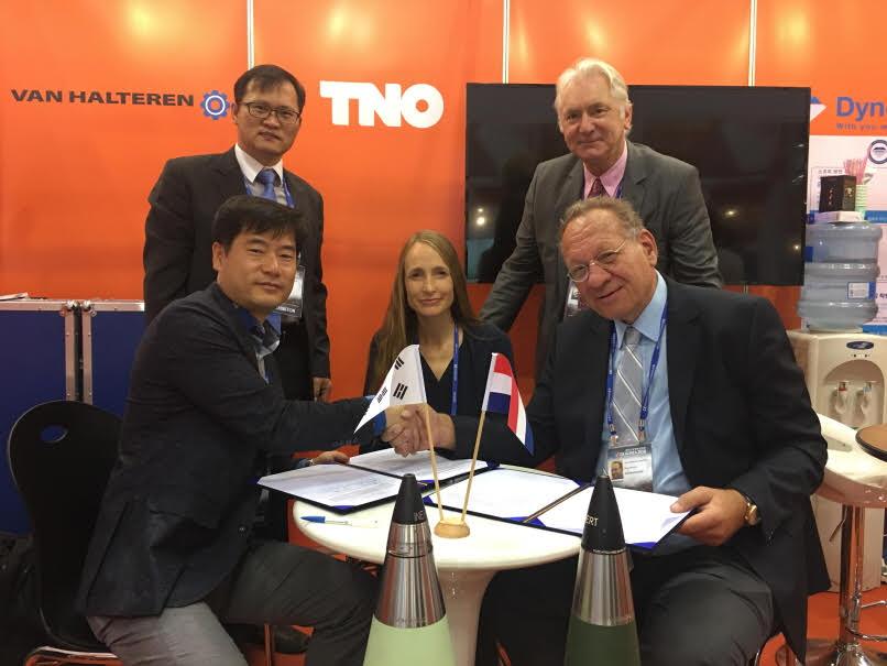 (주)크렌진 (8기 임진국 원우) 네덜란드 방산업체  VAN HALTEREN 사와 NDA((Non Disclosure Agreement) 계약 체결